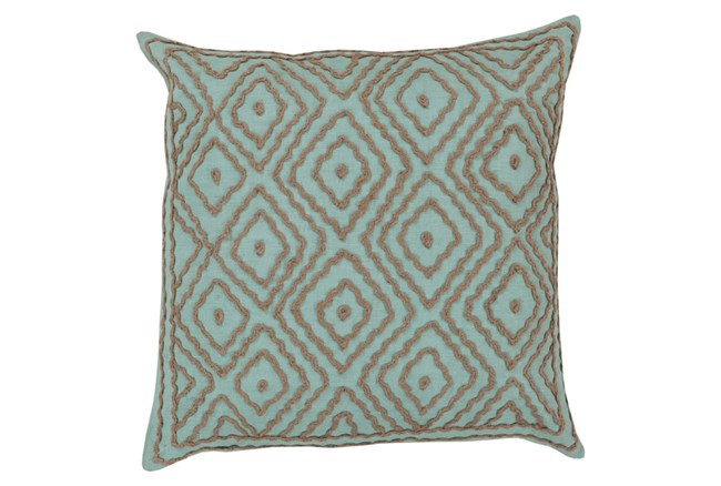 Accent Pillow-Patin Mint 18X18 - 360