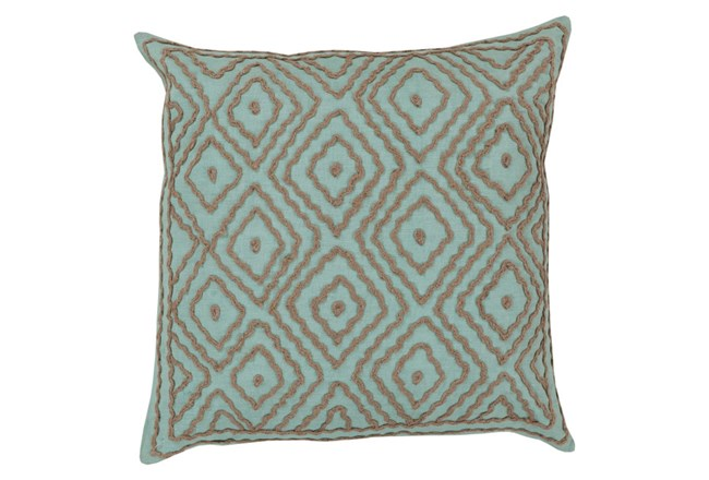 Accent Pillow-Patin Mint 18X18 - 360
