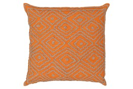 Accent Pillow-Patin Orange 18X18