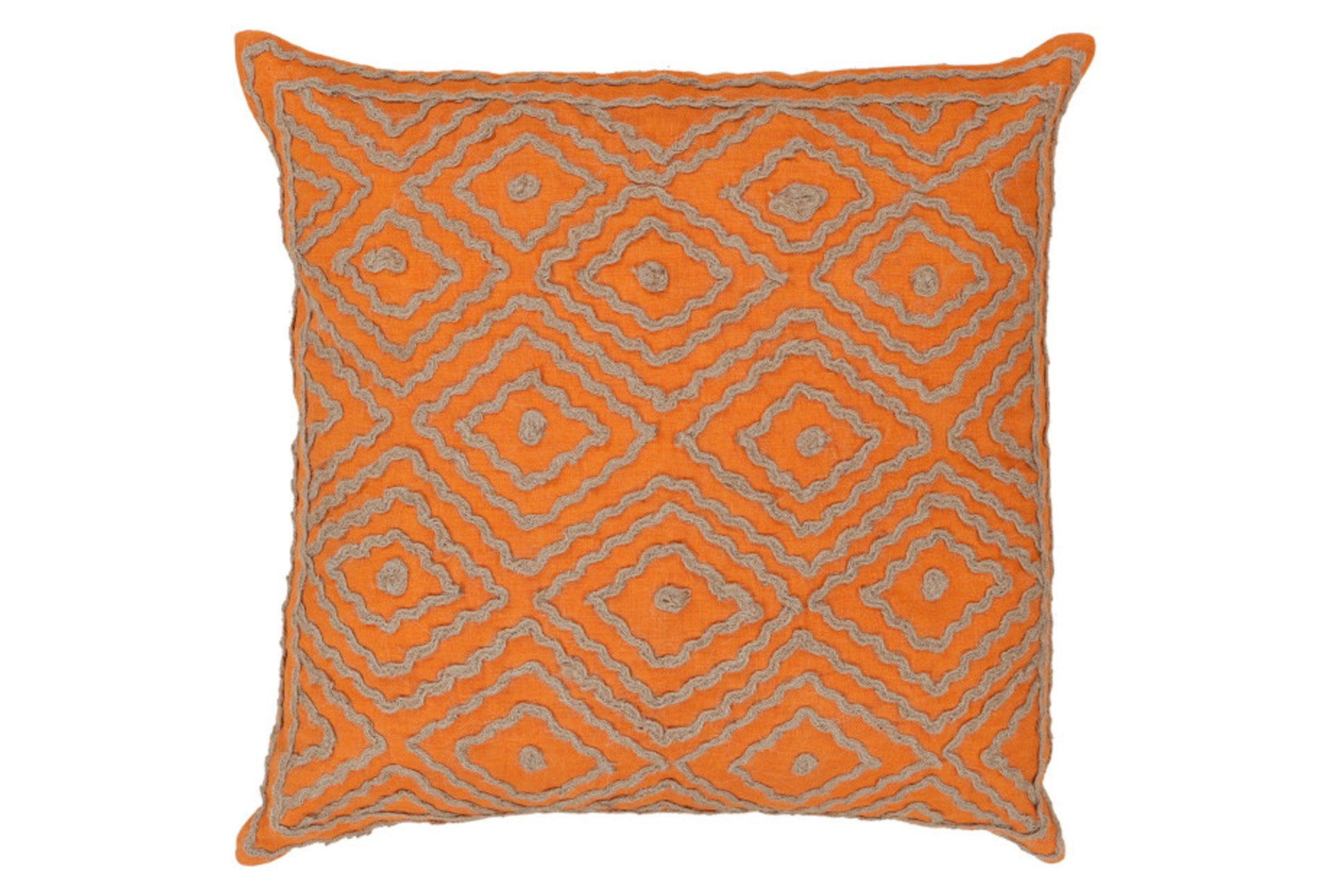 Accent Pillow Patin Orange 20x20 Living Spaces