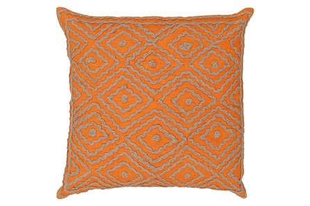 Accent Pillow-Patin Orange 20X20 - Main