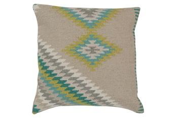 Accent Pillow-Azteca Beige Multi 20X20