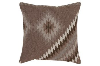 Accent Pillow-Azteca Taupe Multi 22X22