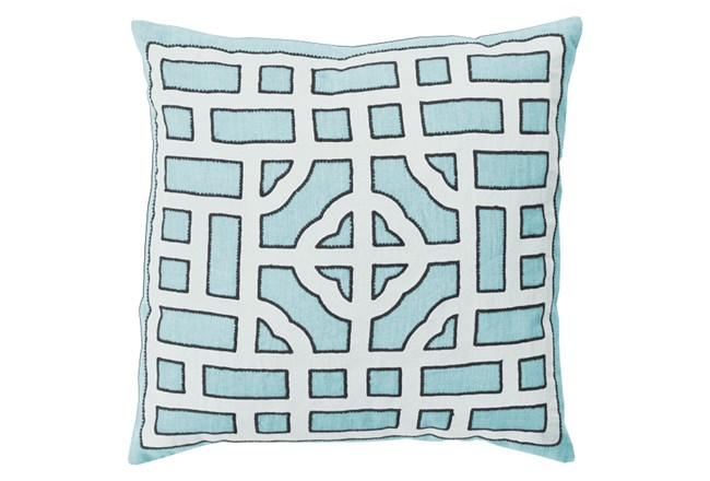 Accent Pillow-Phaedra Blue 20X20 - 360
