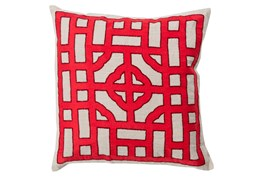 Accent Pillow-Phaedra Red 20X20