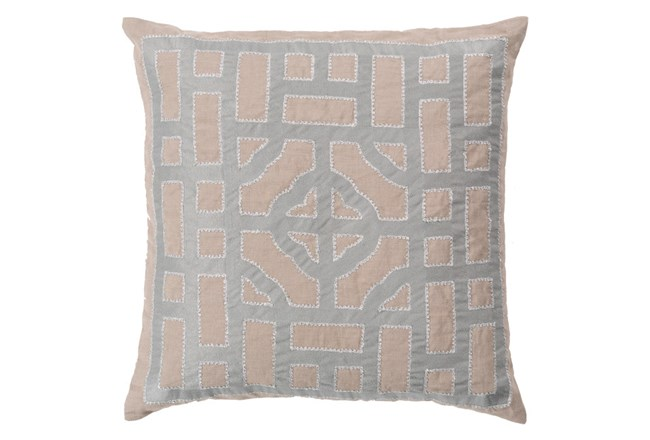 Accent Pillow-Phaedra Taupe 20X20 - 360