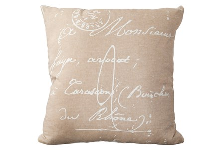 Accent Pillow-Suri Cream 18X18