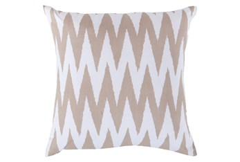 Accent Pillow-Brittany Ivory 22X22