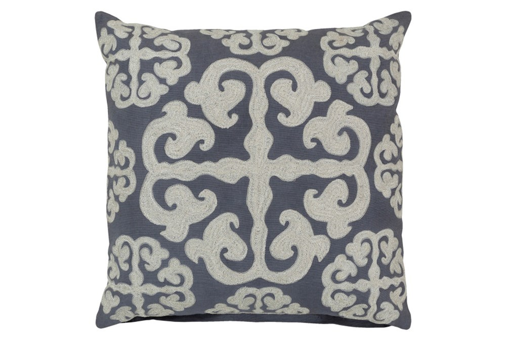 Accent Pillow-Lorena Grey 18X18