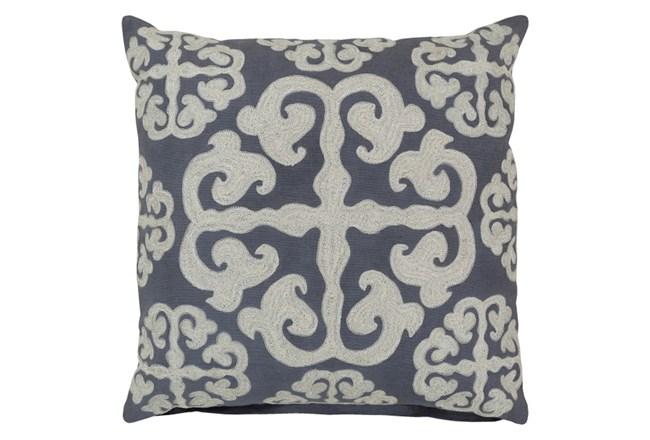 Accent Pillow-Lorena Grey 18X18 - 360