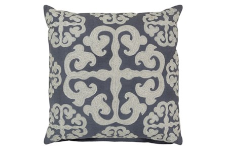 Accent Pillow-Lorena Grey 22X22 - Main