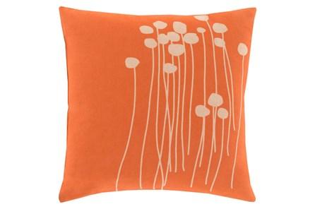 Accent Pillow-Dandelion Orange 18X18 - Main