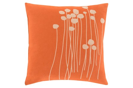 Accent Pillow-Dandelion Orange 20X20 - Main