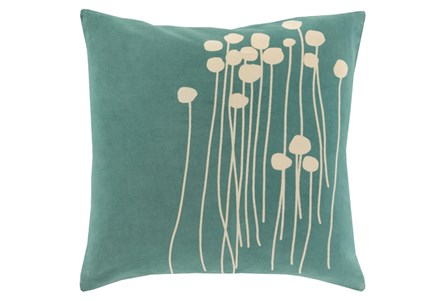 Accent Pillow-Dandelion Seafoam 18X18