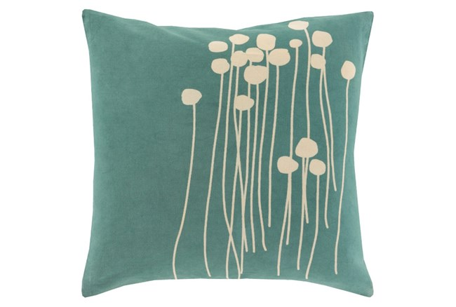 Accent Pillow-Dandelion Seafoam 18X18 - 360
