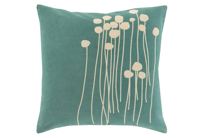 Accent Pillow-Dandelion Seafoam 20X20 - 360
