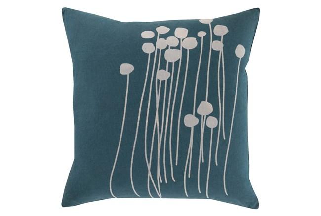 Accent Pillow-Dandelion Teal 18X18 - 360