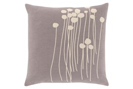 Accent Pillow-Dandelion Grey 18X18