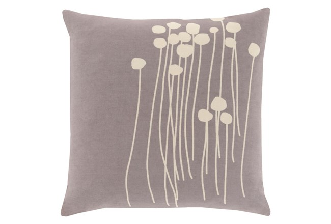 Accent Pillow-Dandelion Grey 18X18 - 360