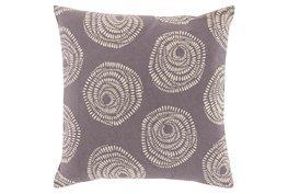 Accent Pillow-Annayse Charcoal 18X18