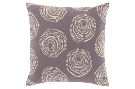 Accent Pillow-Annayse Charcoal 18X18 - Main