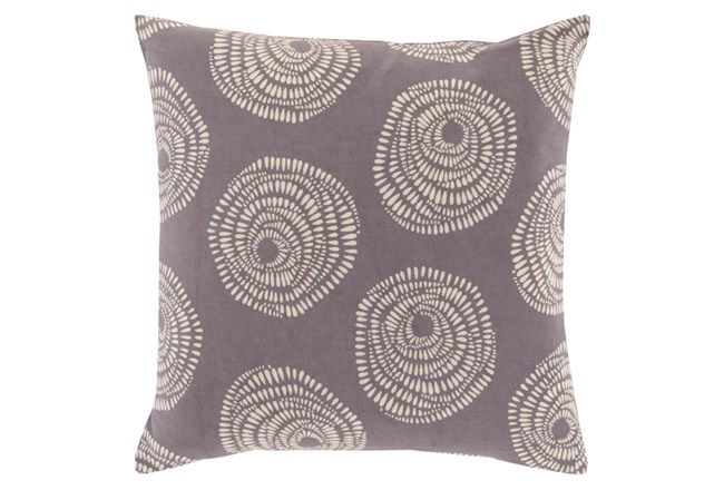 Accent Pillow-Annayse Charcoal 18X18 - 360