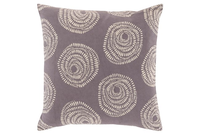 Accent Pillow-Annayse Charcoal 20X20 - 360