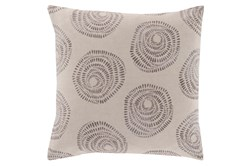 Accent Pillow-Annayse Grey 18X18