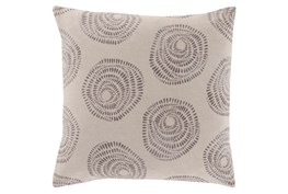 Accent Pillow-Annayse Grey 18X18