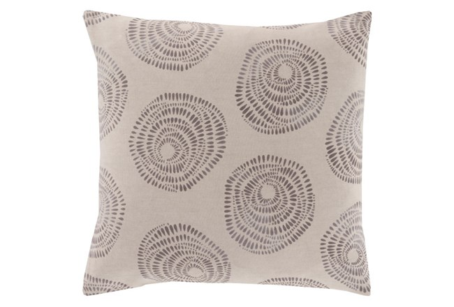 Accent Pillow-Annayse Grey 18X18 - 360