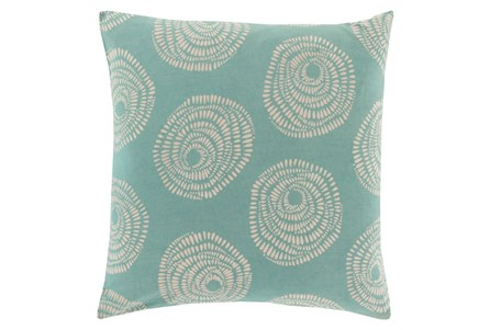 Accent Pillow-Annayse Teal 18X18