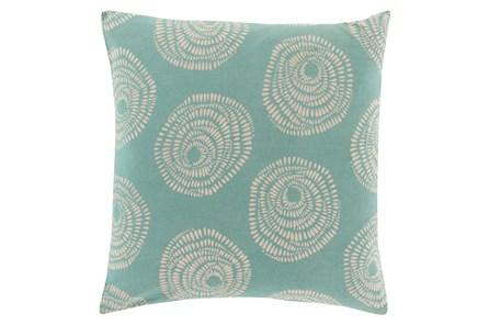 Accent Pillow-Annayse Teal 18X18 - Main