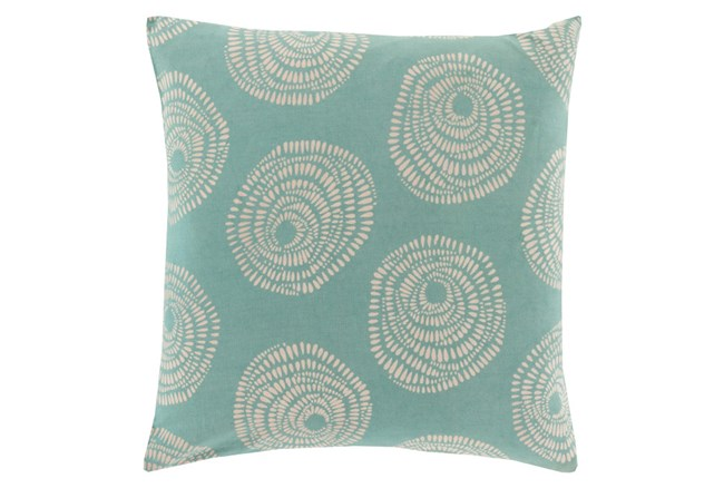 Accent Pillow-Annayse Teal 18X18 - 360