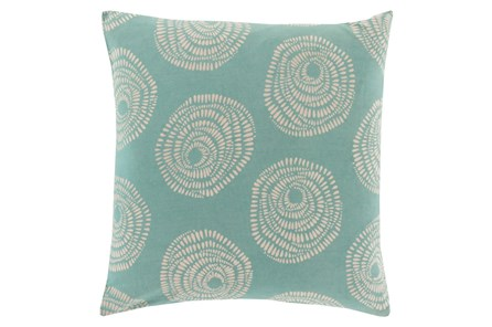 Accent Pillow-Annayse Teal 20X20 - Main