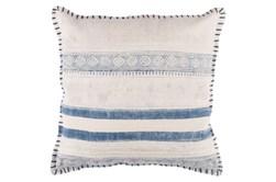 Accent Pillow-Lily Denim Stripes 20X20