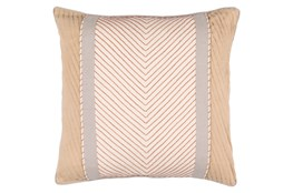 Accent Pillow-Polly Tan Stripe 20X20