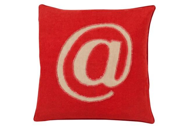 Accent Pillow-Atmark Cherry 22X22 - 360
