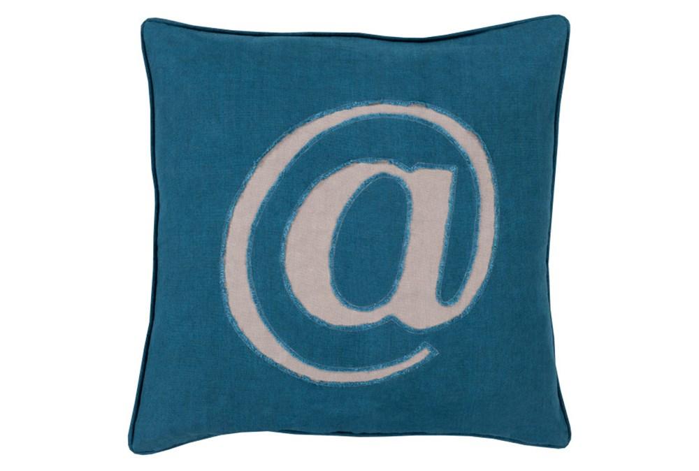 Accent Pillow-Atmark Navy 18X18