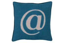 Accent Pillow-Atmark Navy 20X20