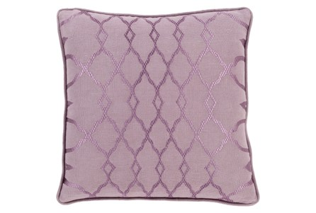 Accent Pillow-Karissa Mauve 18X18