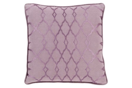 Accent Pillow-Karissa Mauve 18X18