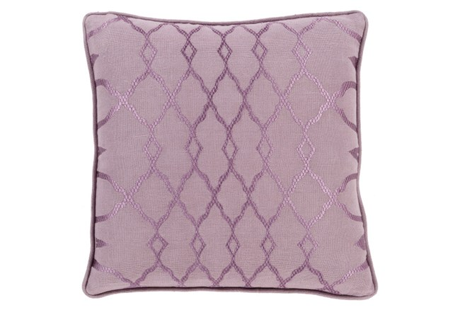 Accent Pillow-Karissa Muave 22X22 - 360