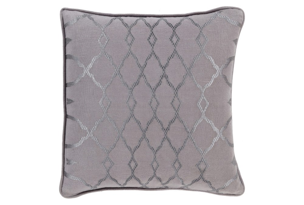 Accent Pillow-Karissa Charcoal 18X18