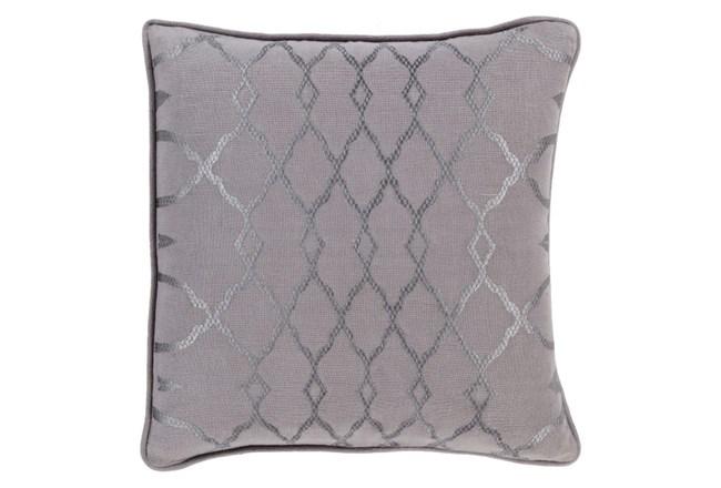 Accent Pillow-Karissa Charcoal 18X18 - 360