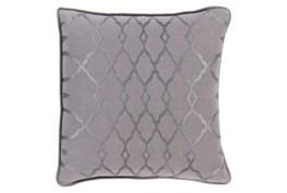 Accent Pillow-Karissa Charcoal 22X22
