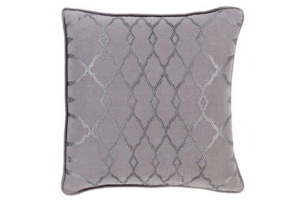 Accent Pillow-Karissa Charcoal 22X22 - Main