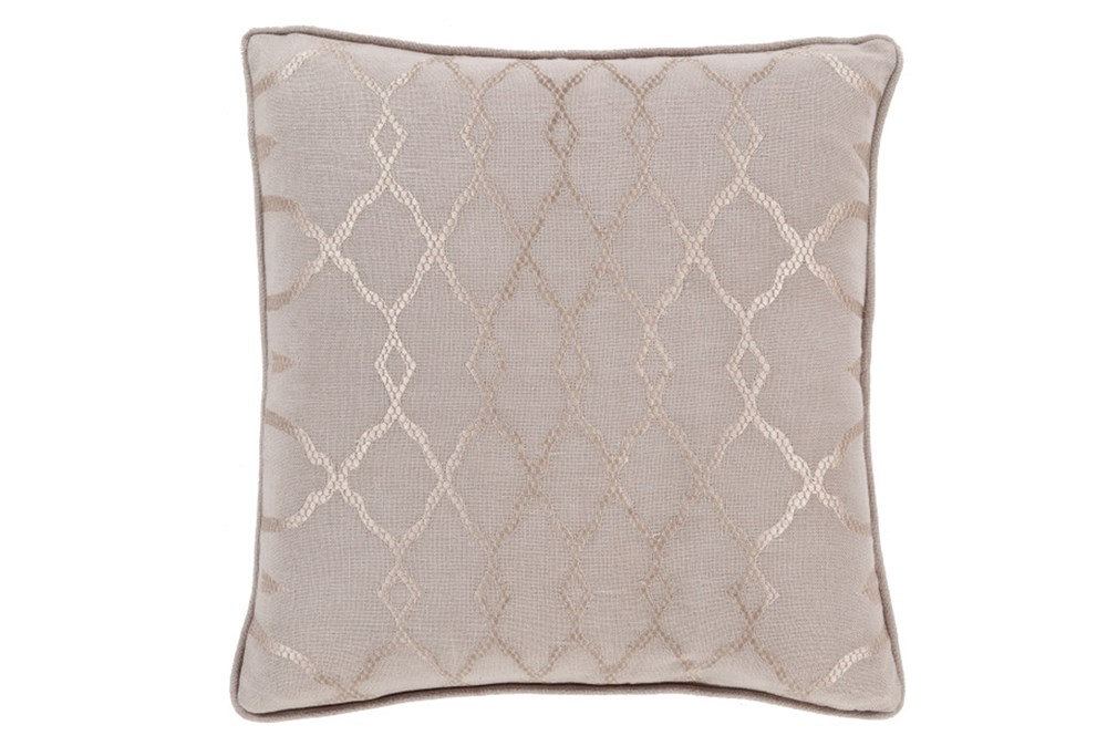 Accent Pillow-Karissa Taupe 18X18