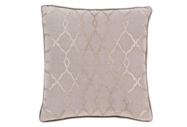 Accent Pillow-Karissa Taupe 18X18 - 360