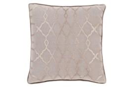 Accent Pillow-Karissa Taupe 22X22