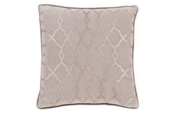 Accent Pillow-Karissa Taupe 22X22